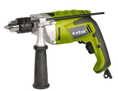Obrázok pre výrobcu El. príklepová vŕtačka Extol Craft 1100W 401190