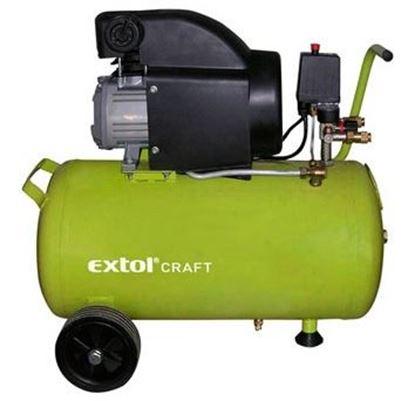 Obrázok pre výrobcu Kompresor olejový Extol Craft 1500W/50l 418210