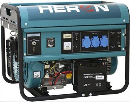 Obrázok pre výrobcu HERON 8896115 Elektrocentrála EGM 55 AVR 1E