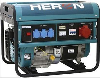 Obrázok pre výrobcu Elektrocentrála rámová benzínová HERON EGM60 AVR 3 8896112