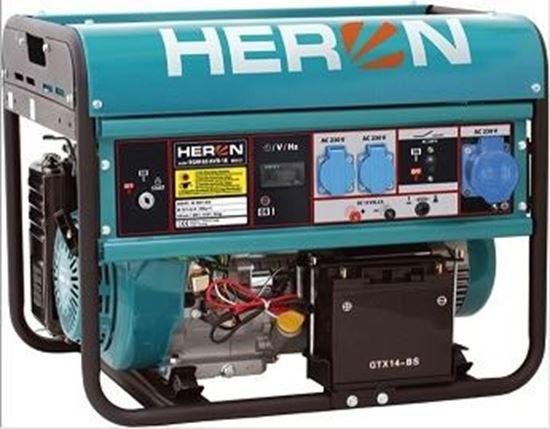 Obrázok Elektrocentrála rámová benzínová HERON EMG 65 AVR 1E 8896121