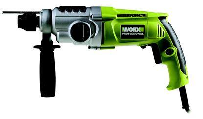 Obrázok pre výrobcu Worx WU330.1 Vŕtacie a sekacie kladivo 710 W