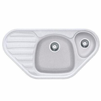Obrázok pre výrobcu Franke Calypso COG 651 E granitový drez 960 x 500 mm