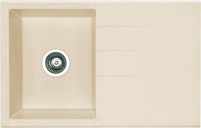 Obrázok pre výrobcu Alveus CUBO 30 vanilka 780 x 500 mm drez granitový DOPREDAJ