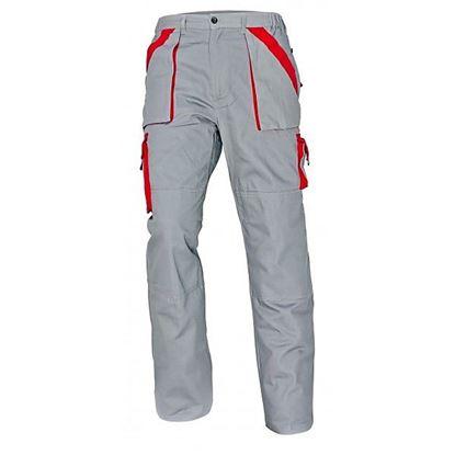 Obrázok pre výrobcu Nohavice do pása MAX sivo-červené Dopredaj