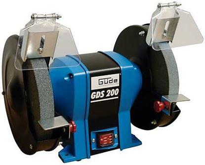 Obrázok pre výrobcu Güde GDS 200 Dvojkotúčová brúska 55116