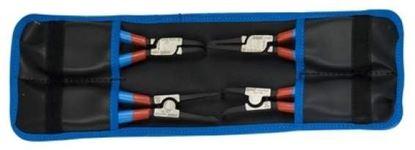 Obrázok pre výrobcu Sada segerových klieští PLUS v puzdre - 539PLUS/4DPCT 10-25mm