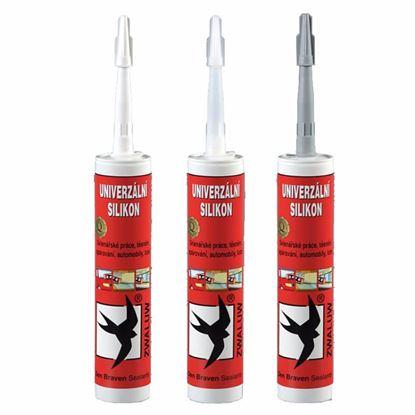 Obrázok pre výrobcu Silikón sanitárny 310 ml