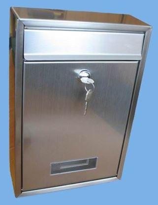 Obrázok pre výrobcu Poštová schránka Tech Nerez