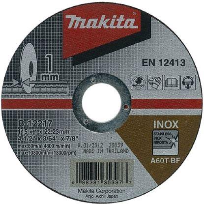 Obrázok pre výrobcu Rezný kotúč Makita inox