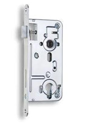 Obrázok pre výrobcu Zámok zadlabávací dverový HOBES 24026 P/L