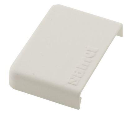 Obrázok pre výrobcu Krytka na upínací element Samet biela