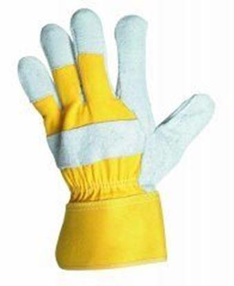 Obrázok pre výrobcu Rukavice EIDER žlto-sivé 106922