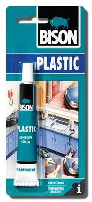 Obrázok pre výrobcu Lepidlo BISON PLASTIC na tvrdé plasty