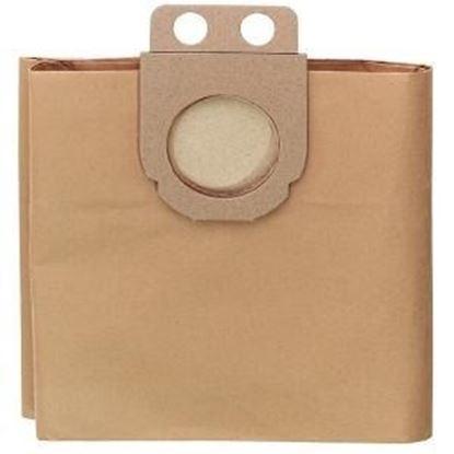 Obrázok pre výrobcu Filtračný sáčok - 5 Papierových vreciek 50 l pre ASR/SHR 2050 M