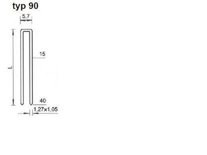 Obrázok pre výrobcu Spona Bea typ 90/15-40
