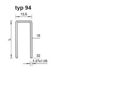 Obrázok pre výrobcu Spona Bea typ 94/15-25