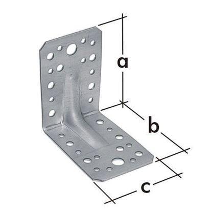 Obrázok pre výrobcu Uholník s rebrom KPL