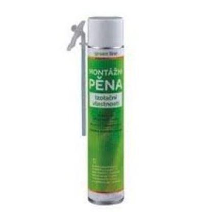 Obrázok pre výrobcu Polyuretánová pena hadičková letná GREEN 750ml