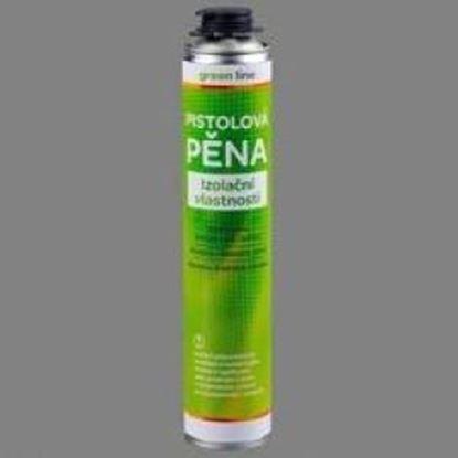 Obrázok pre výrobcu Polyuretánová pena pištoľová 750 ml letná GREEN