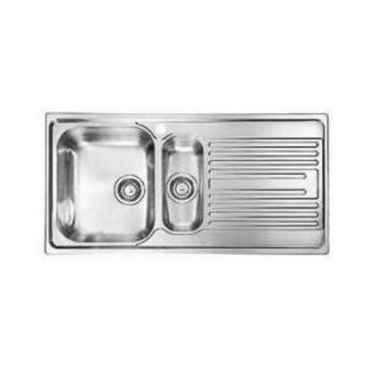 Obrázok pre výrobcu Nerezový drez AS16LIN 1 000 x 500 mm + AS109