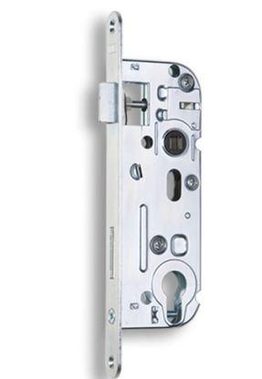 Obrázok pre výrobcu Zadlabávací dverový zámok na vložku HOBES 02-04