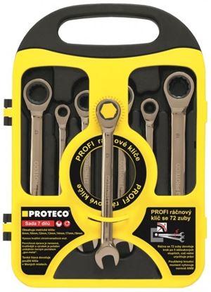 Obrázok pre výrobcu Sada račnových kľúčov 7dielna 8-19 Proteco 42. 18-344-772