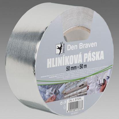 Obrázok pre výrobcu Den Braven Hliníková páska 50 mm x 50 m