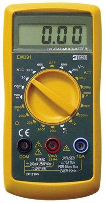 Obrázok pre výrobcu Multimeter digitálny EM391