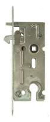 Obrázok pre výrobcu Zámok zadlabávací na posuvné dvere vložkový HOBES K106A