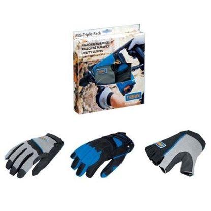Obrázok pre výrobcu Pracovné rukavice Narex Triple Pack