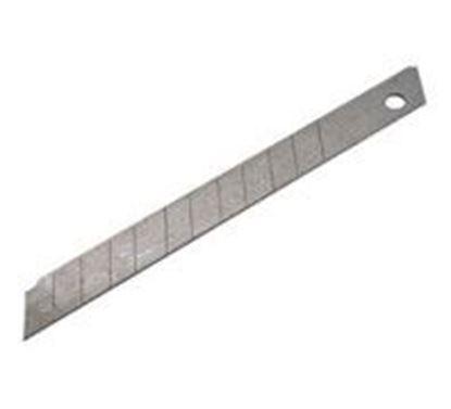 Obrázok pre výrobcu Čepeľ rovná 18 mm 10 ks v plastovom púzdre 9123