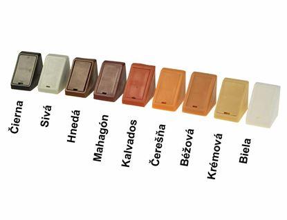 Obrázok pre výrobcu Plastový uholník G01