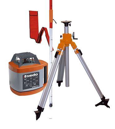 Obrázok pre výrobcu Nedo SIRIUS 1 HV-set 471941 Rotačný laser