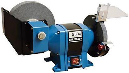 Obrázok pre výrobcu Brúska dvojkotúčová Güde GNS 200/150 na mokro aj sucho 40350