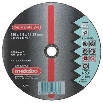 Obrázok pre výrobcu Rezný kotúč Metabo Inox