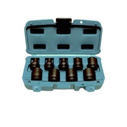 Obrázok pre výrobcu Makita P-46953 Sada priemyselných orechov gola 9-dielna