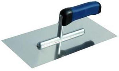 Obrázok pre výrobcu Hladítko nerezové 270*130 s kovovou rukoväťou Extol 750301