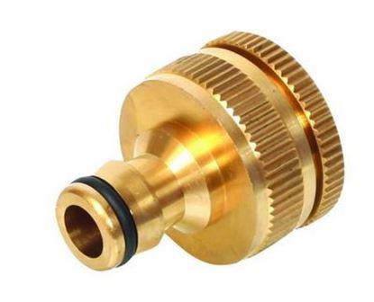 """Obrázok pre výrobcu Rýchlospojka kovová adaptér 3/4 """"- 1 """" vnútorný závit SB3001"""