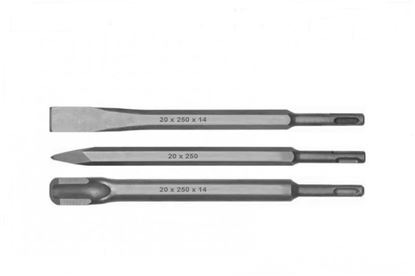 Obrázok pre výrobcu Sada sekáčov SDS 3 dielna 250mm 23950