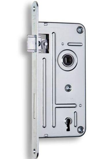 Obrázok Zadlabavací zámok na dózicky kľúč HOBES 548A P/Ľ