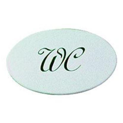 Obrázok pre výrobcu Znak na elegant plast WC