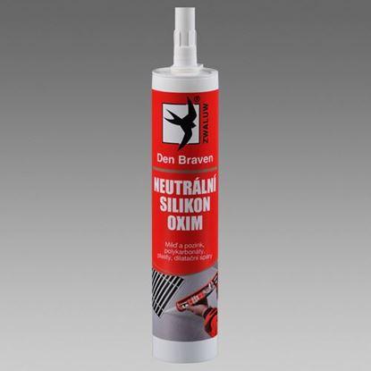 Obrázok pre výrobcu Silikón neutrálny OXIM hnedý 310 ml Den Braven 30604RL