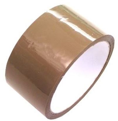 Obrázok pre výrobcu Hnedá balíková páska 48*60m B3501BD