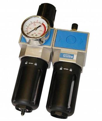 """Obrázok pre výrobcu Odlučovač olejový s redukčným ventilom 1/4"""" Gude 41084"""