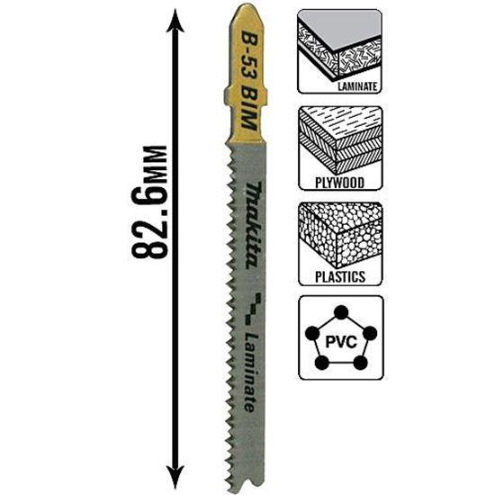 Obrázok Makita B-10970 Pílový list na laminát B53
