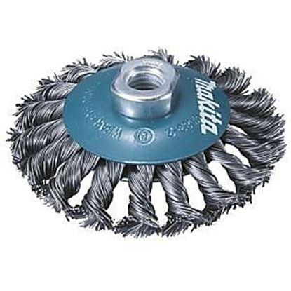 Obrázok pre výrobcu Kefa z oceľového drôtu Makita D-39861