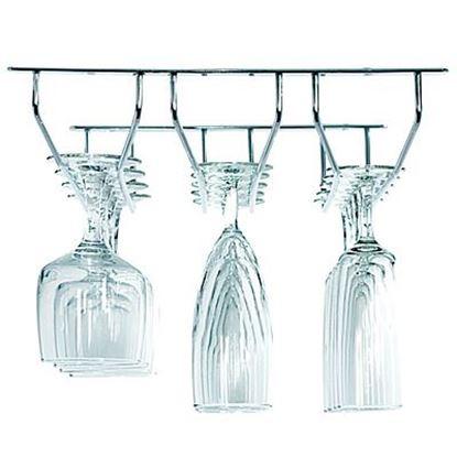 Obrázok pre výrobcu Držiak pohárov na strop chrómový