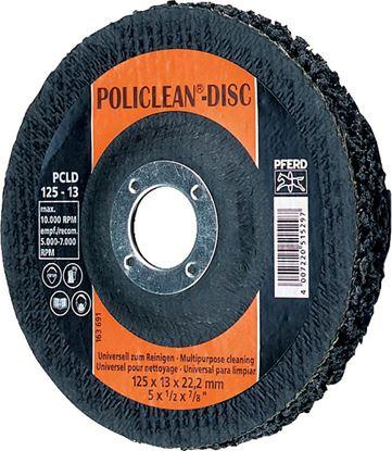 Obrázok pre výrobcu Kotúč brúsny POLICLEAN PCLD 125 x 13 x 22 mm