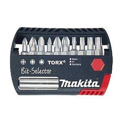 Obrázok pre výrobcu Makita P-54053 10-dielna sada bitov